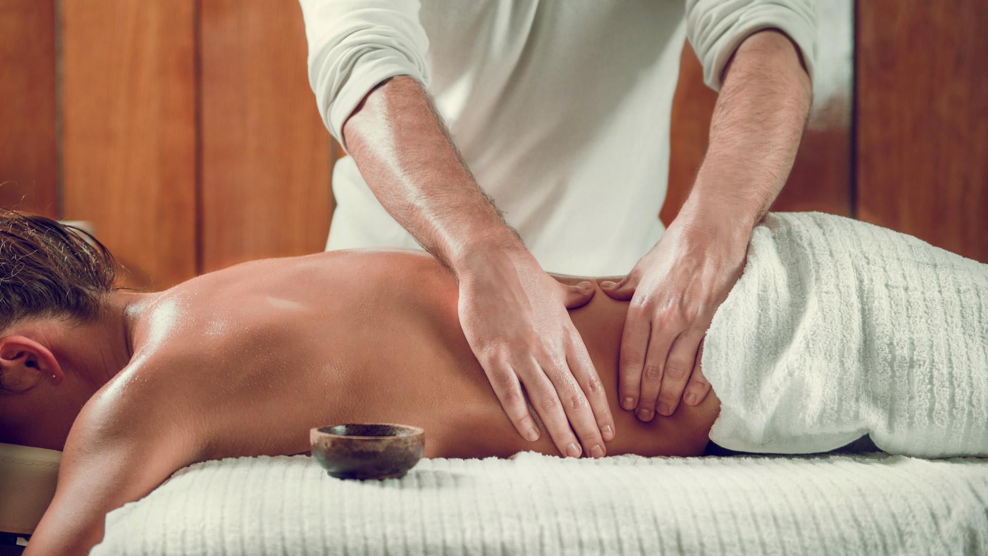 Классический боди массаж